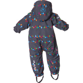 """Isbjörn Toddlers Padded Jumpsuit PeaksGrey"""